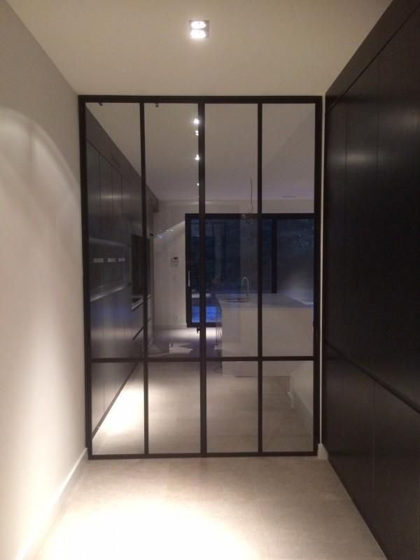 metalen strakke binnendeur (V67)