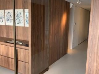 metalen binnendeur strak 20-60 brons