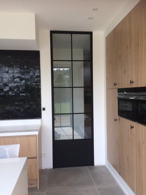 metalen binnendeur met stopverf (V103)