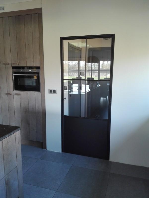 metalen binnendeur met stopverf (V105)