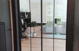 metalen binnendeur met stopverf (V106)
