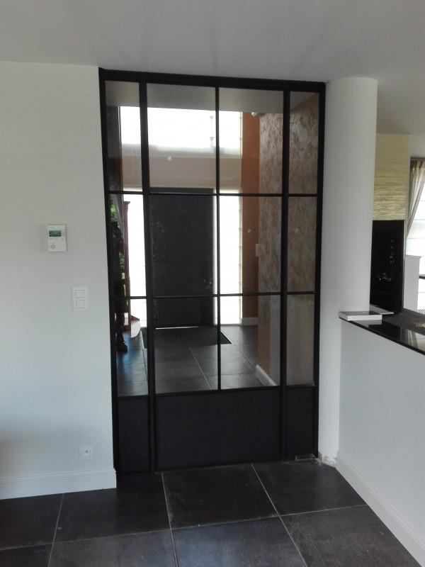 metalen binnendeur met stopverf (V107)