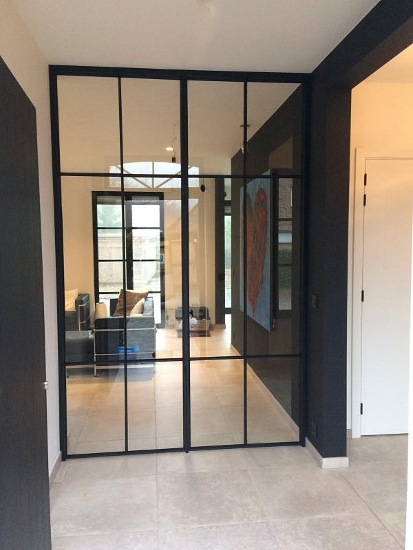 metalen binnendeur met stopverf (V113)