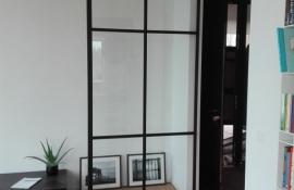 metalen binnendeur met stopverf (V114)