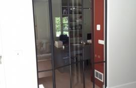 metalen binnendeur met stopverf (V119)