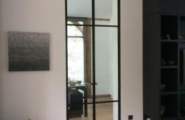 metalen binnendeur met stopverf (V122)