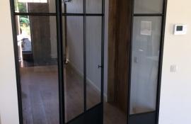 metalen binnendeur met stopverf (V123)
