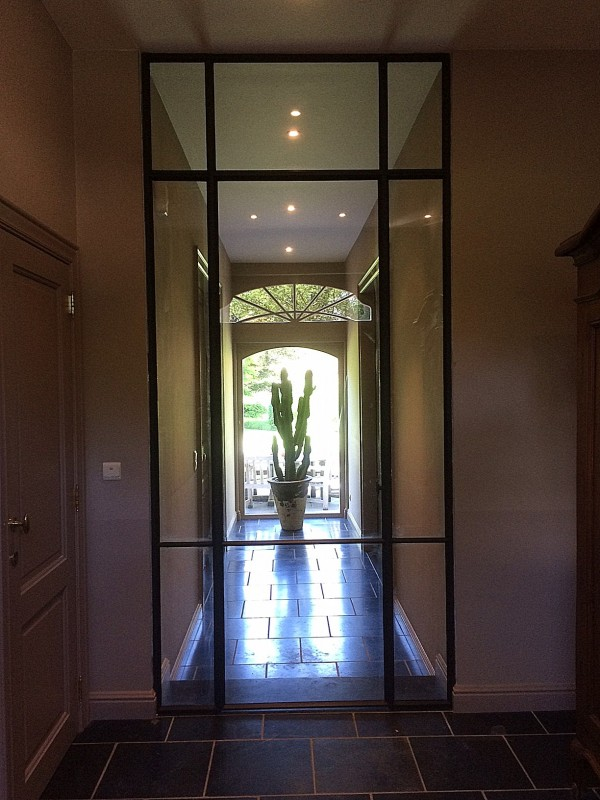 metalen binnendeur met stopverf (V124)
