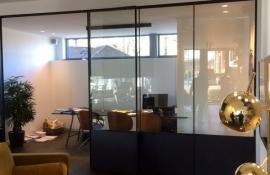 metalen binnendeur met stopverf (V125)