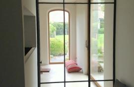 glazen deur