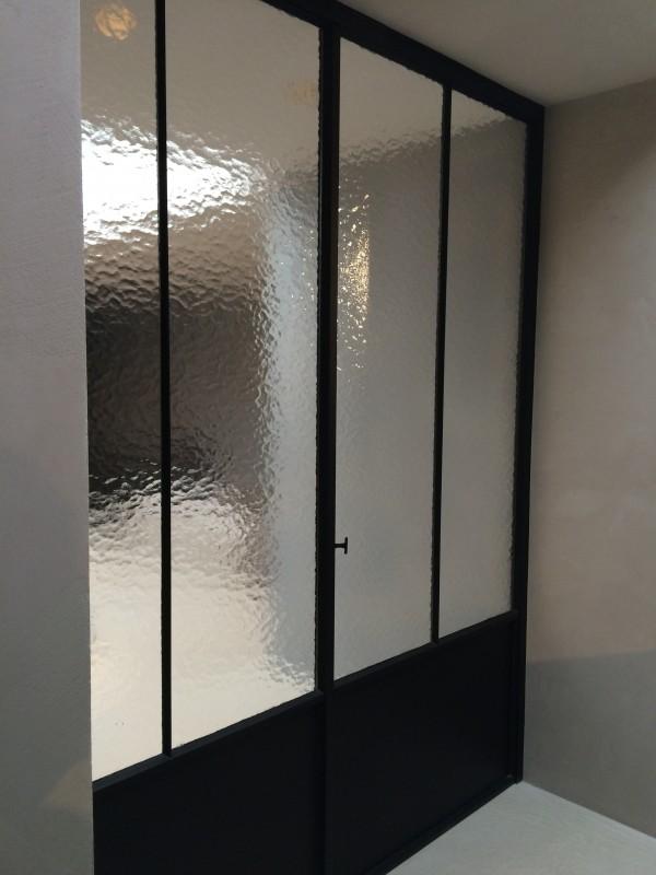 metalen binnendeur met stopverf