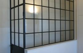 metalen binnendeur met stopverf (V56)
