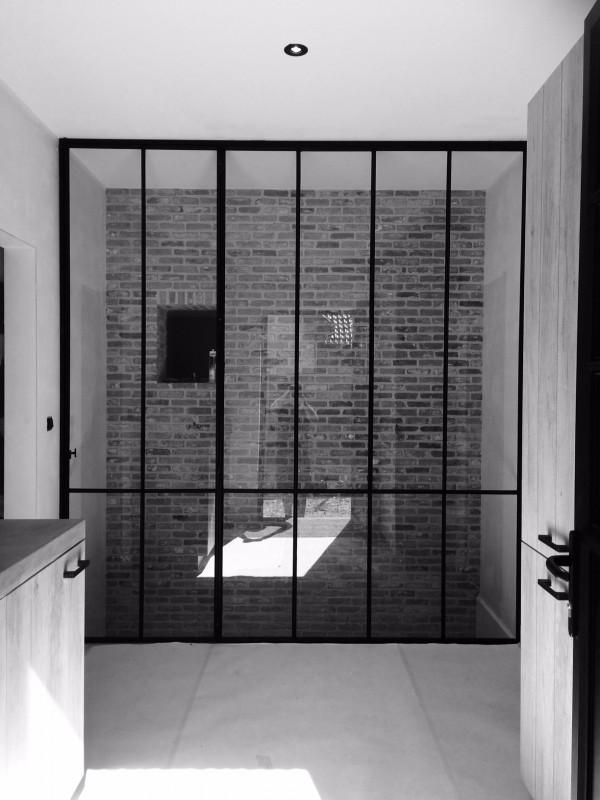 metalen binnendeur met stopverf (V57)
