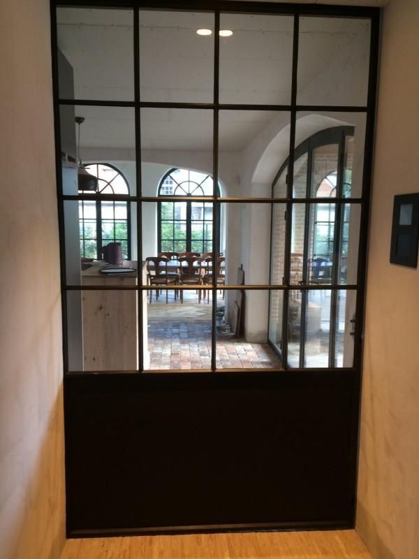 metalen binnendeur met stopverf (V59)