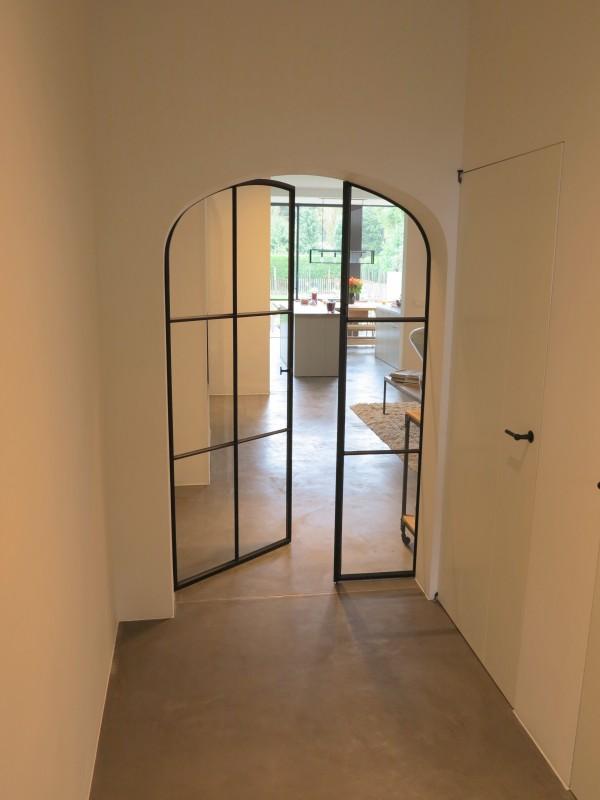 metalen binnendeur met stopverf (V69)