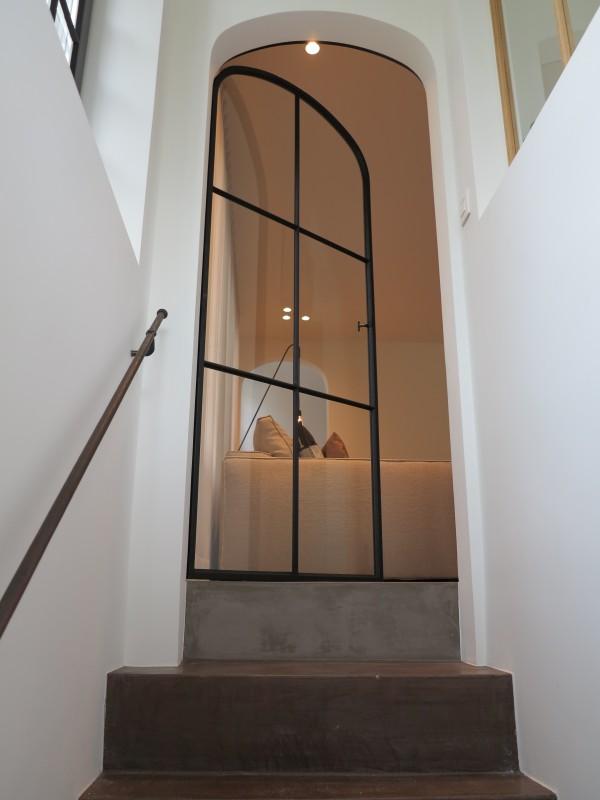 metalen binnendeur met stopverf (V72)