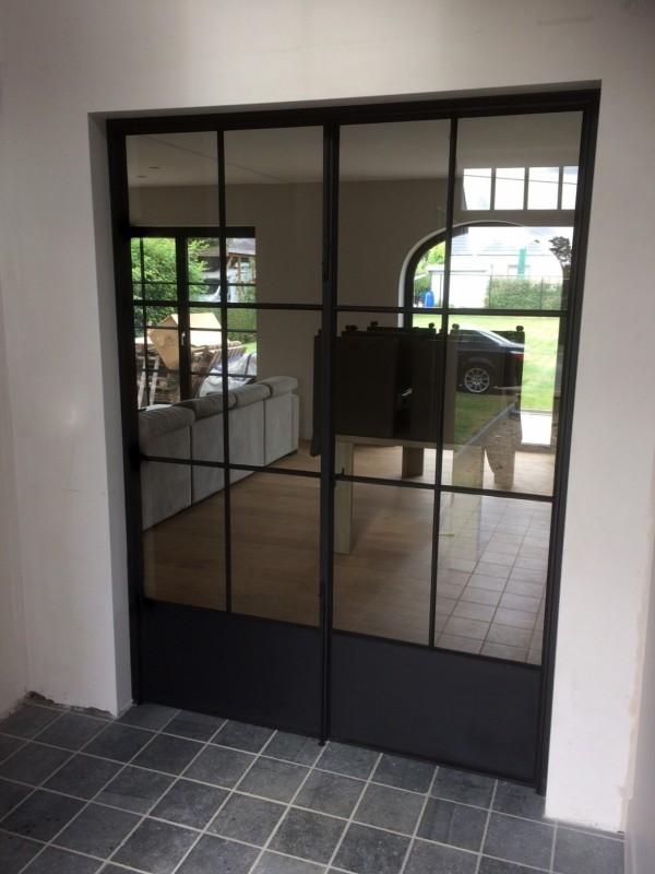 metalen binnendeur met stopverf (V74)