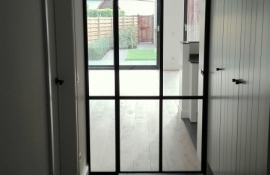 metalen binnendeur met stopverf (V79)