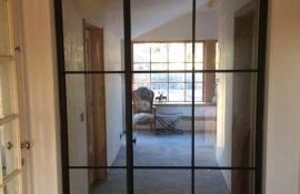 metalen binnendeur met stopverf (V84)