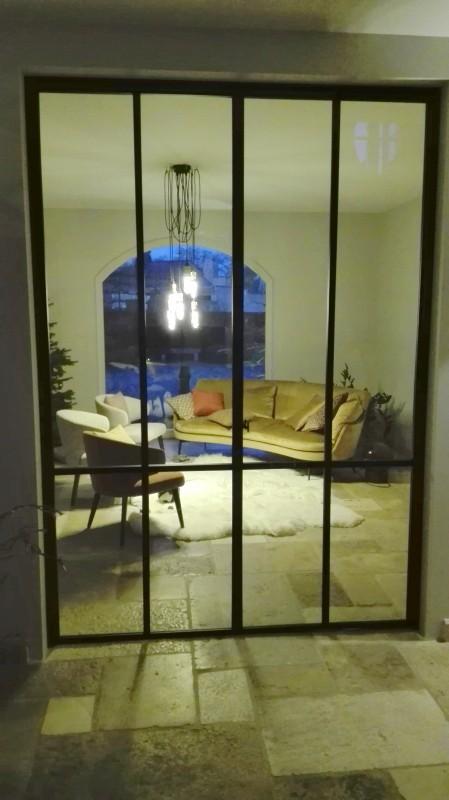 metalen binnendeur met stopverf (V89)