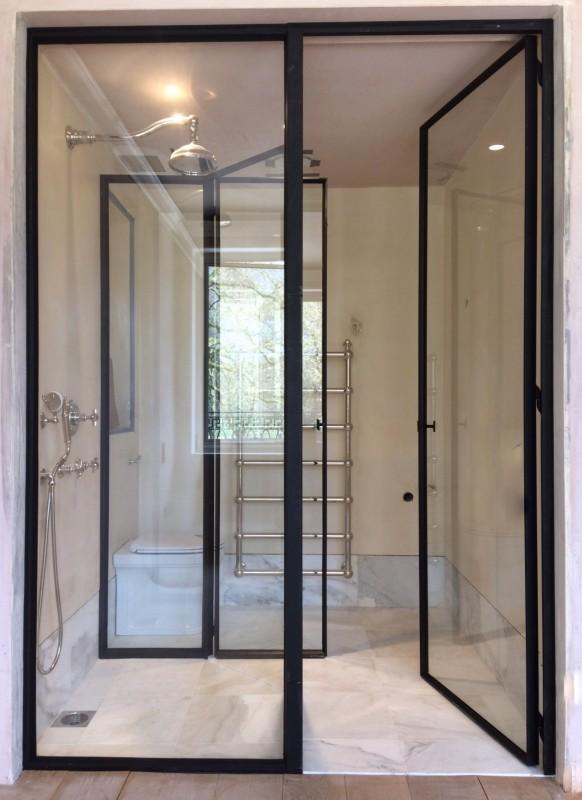 metalen binnendeur met stopverf (V95)