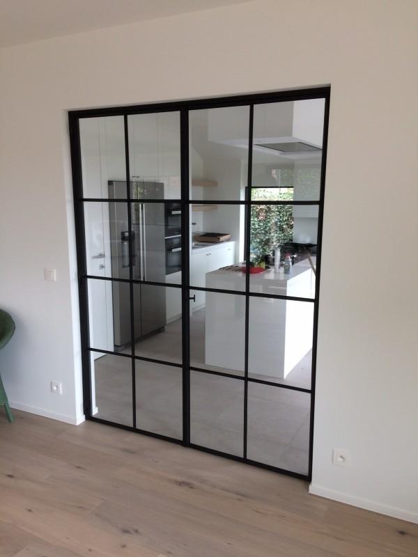 metalen binnendeur met stopverf (V97)