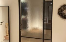 metalen binnendeur strak 21-06 mix glas