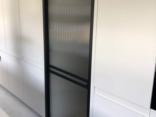 metalen binnendeur strak 21-36 flute