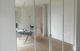 metalen binnendeur strak 21-60 wit