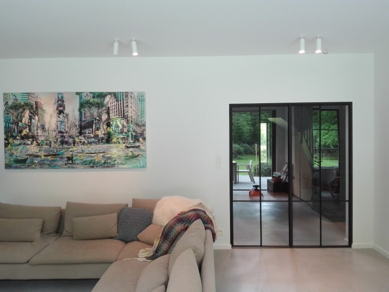 metalen deur met stopverf (H36)
