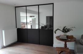 metalen strakke binnendeur (H25)