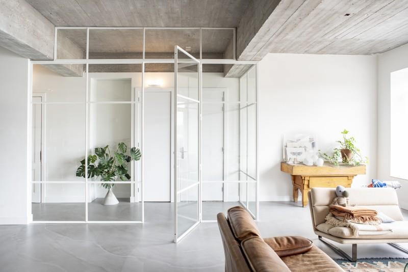 metalen strakke binnendeur (H30)