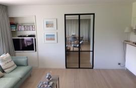 metalen strakke binnendeur (H32)