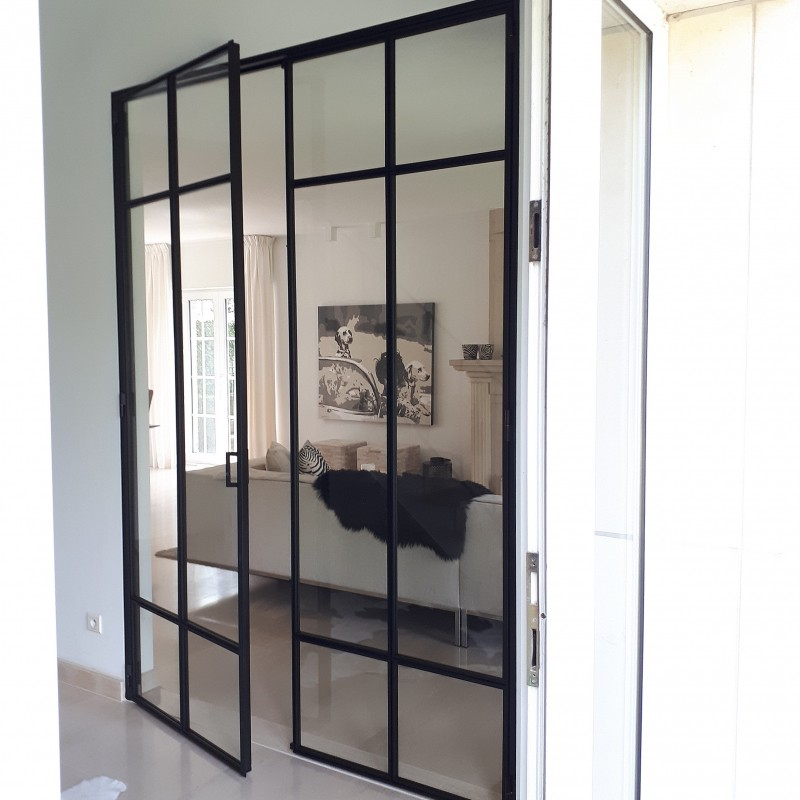 metalen strakke binnendeur (V100)