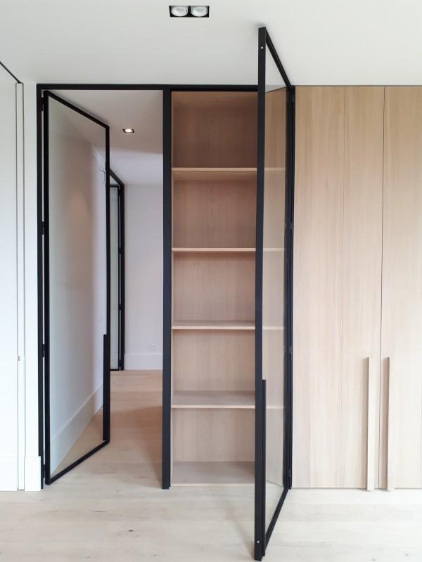 metalen strakke binnendeur (V103)