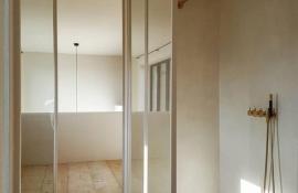 metalen strakke binnendeur (V105)