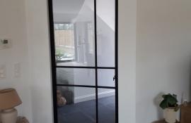 metalen strakke binnendeur (V108)