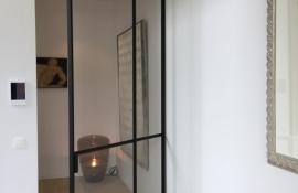 metalen strakke binnendeur (V110)