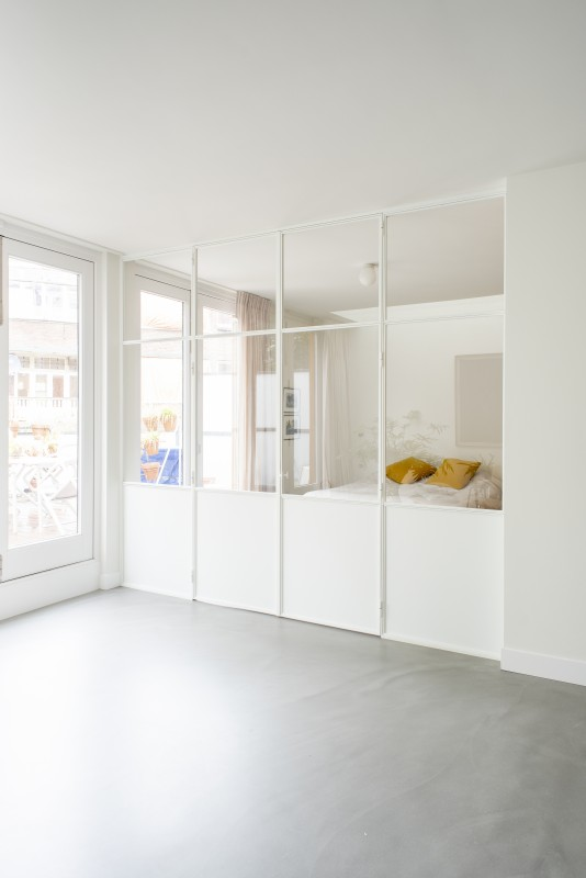 metalen strakke binnendeur (V111)