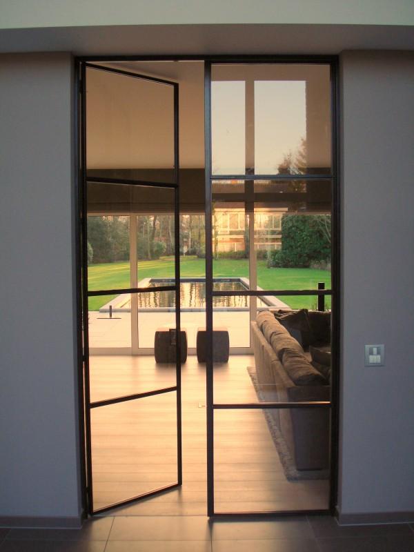 metalen strakke binnendeur (V34)