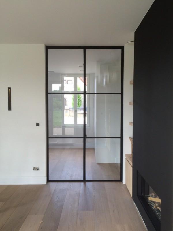 metalen strakke binnendeur (V45)