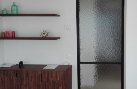 metalen strakke binnendeur (V47)