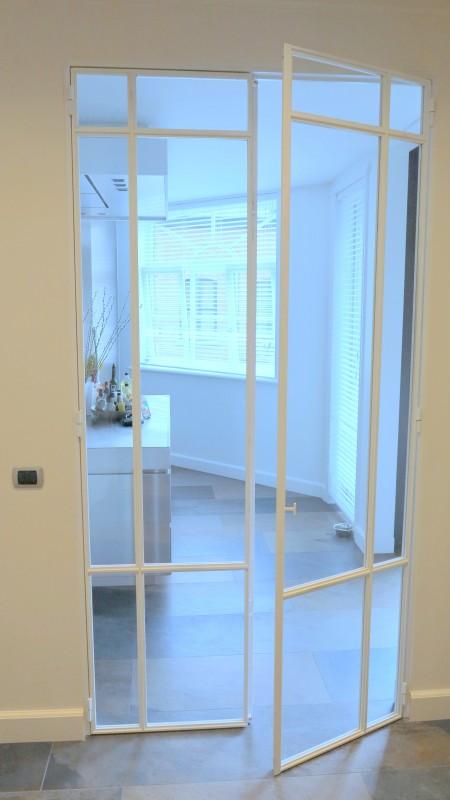 metalen strakke binnendeur (V48)