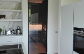metalen strakke binnendeur (V54)