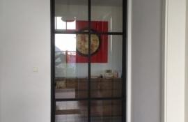 metalen strakke binnendeur (V55)