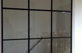 metalen strakke binnendeur (V65)
