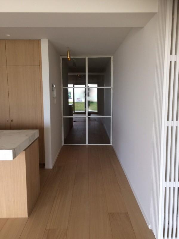 metalen strakke binnendeur (V72)