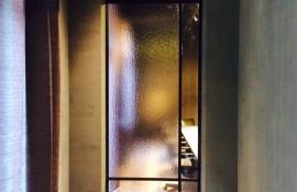 metalen binnendeur strak 17-32 getint