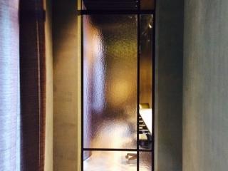 metalen binnendeur strak 17-29 getint