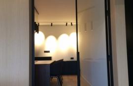 metalen strakke binnendeur (V76)